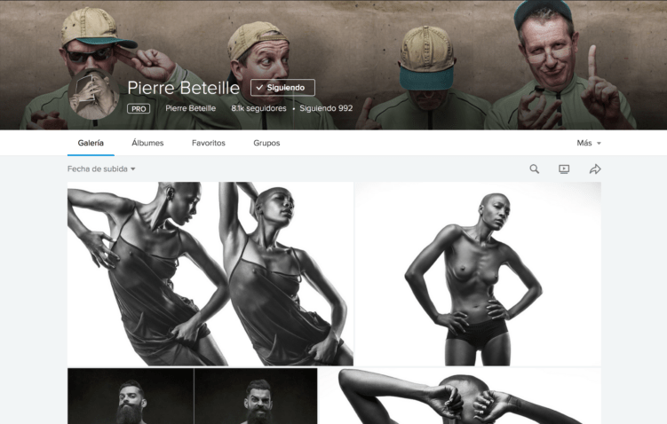 Pierre Beteille en Flickr
