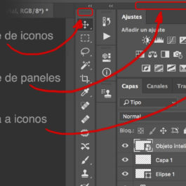 La interfaz de Photoshop